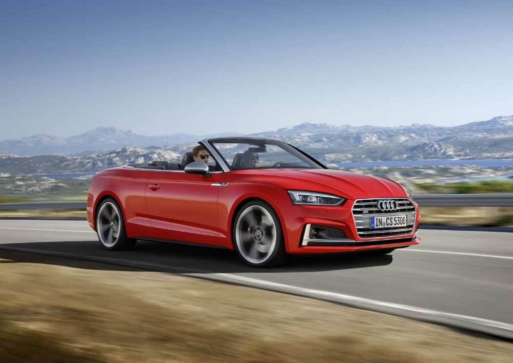 Audi Of America Will Debut The Allnew A And S Cabriolet At The - Audi of america